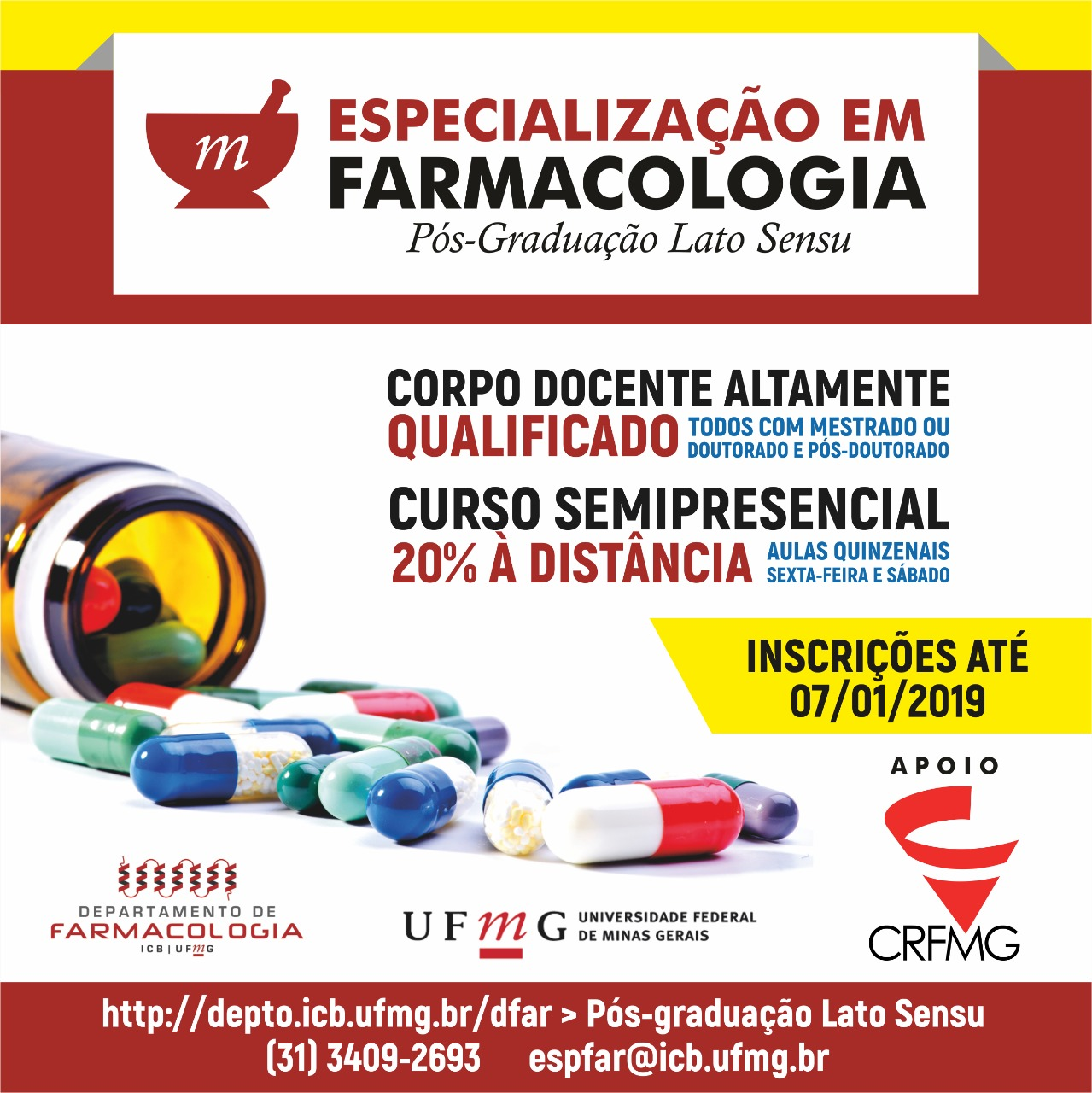 Especializacao farmacologia